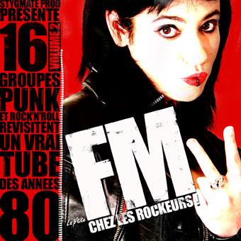 La P'tite FM Chez Les Rockeurs! Volume 2... si si sans déc!! Jackettefm2